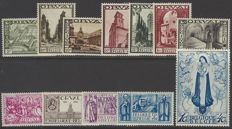 """Belgium 1933 – """"Second Orval"""" – OBP 363/374"""