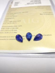 Triple Tanzanite Blue 17.52 ct    No Reserve Price