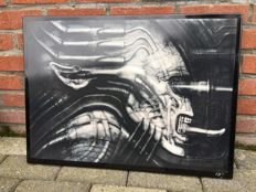 Alien Hansruedi Giger art sign - 2002