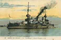 Militaria - French Navy - Lot 40 postcards-