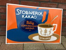 Stollwerck Kakao - recent signs in good condition