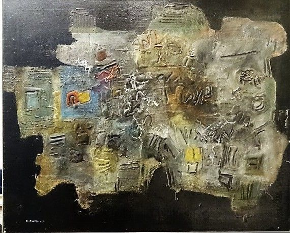 Efraim Modzelevich - Abstract composition