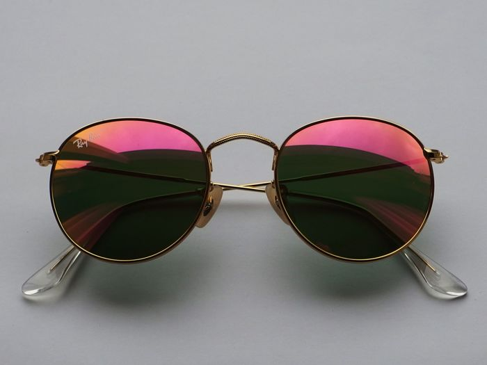 d4dc338d6fe9f3 Ray-Ban Round metal - Sunglasses - Unisex - Catawiki