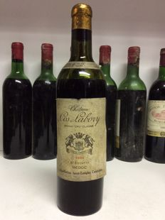 1952 Chateau Cos Labory, Grand Cru Classe Saint-Estephe, France - 1 bottle 0,75l