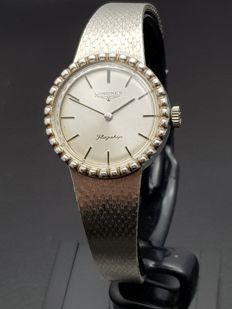 Longines Silver – Design Women's Watch – Swiss made, 1970s