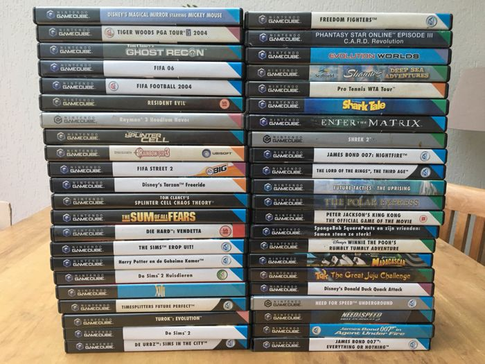 gamecube game lot