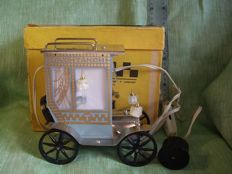 A model of a taxi car. The state of the new - was released in the USSR in 1980. A decorative lamp is a souvenir.