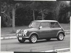 Mini 1.3i Cooper Sports Pack Original Period Press Photographs - Set of 2, Exterior & ON-THE-ROAD - 1996