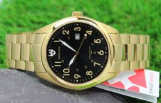 Swiss Eagle – Men's - Chronograph - Gold Plated Watch – unworn