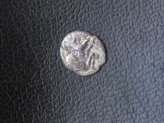 Greek Antiquity - Sicily - Lot of two silver coins:  Lentini (Leontinoi), Gela