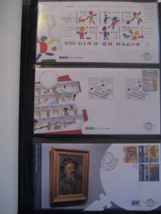 The Netherlands 2002/2013 - Collection FDCs from E474 up to E680 in 2 Importa albums