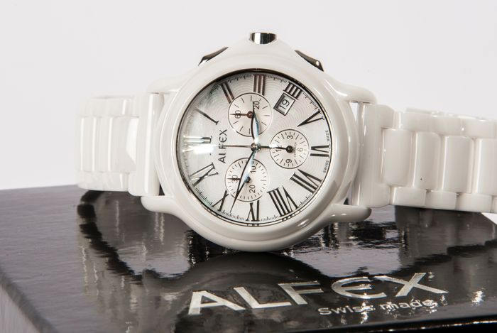 63aa1168745 ALFEX - Model  5629-791 - Swiss made - Men s chronograph - New ...