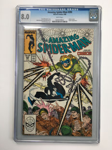 Marvel Comics -The Amazing Spider-Man #299 - 1st Cameo Appearance Of Venom - CGC Graded 8.0 - 1x sc - (1988)