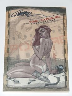 Time Exposure - Limited Signed Sketchbook By J. Scott Campbell  - sc - 1st Edition - (2005)