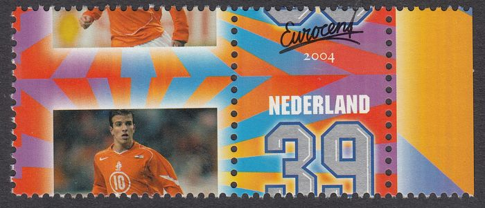 The Netherlands 2004 - Personal stamp 'Radiant', misprint - NVPH 2270 with heavily shifted perforation