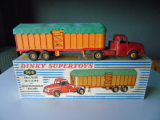 Dinky Supertoys-France - Scale1/48 - Tractor Willème with covered Semi-trailer No.896