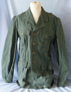 WW2 German Army Fatigue Tunic Jacket