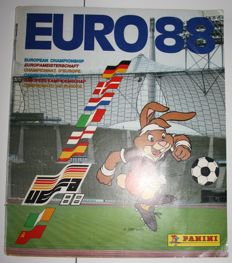 Panini - Euro 88 Deutschland BRD - Dutch version - Complete album