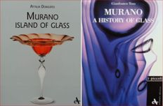 2 Books on Murano Glass (Attilia Dorigato - Gianfranco Toso)