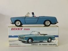Dinky Toys-France - Scale 1/43 - Peugeot 404 Pininfarina Cabriolet No.528
