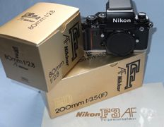 Nikon F3 AF with AF Nikkors 1:2.8/ 80mm and 1:3.5/200 ED