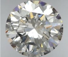 Round Brilliant 2.03ct - G SI2 -IGI  -Original Image 10X #2239