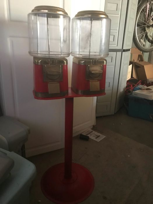 Antique candy machine 1940 and 50's