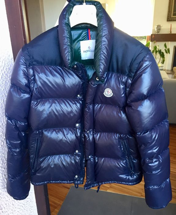 Moncler - quilted coat padded with goose down