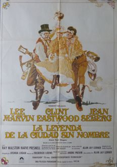 Anonymous - La Leyenda De La Ciudad Sin Nombre (Paint Your Wagon; Clint Eastwood) - 1970