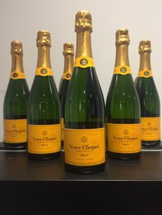 Veuve Clicquot Brut NV - 6 bottles (75cl)