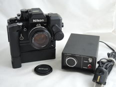 Nikon F2AS + DP12 + MD3 + MB2 +DS12 + DH1