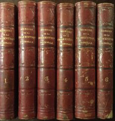 De Barante - Histoire de la Convention Nationale - 6 volumes - 1851