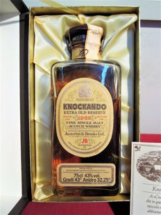 Knockando 1962 - J&B Old Single Malt Scotch Whisky  - Extra Old Reserve - OB