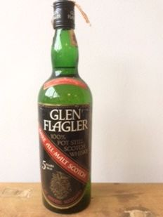 Glen Flagler 5 years old, Rare All-Malt Scotch - 100% Pot Still Scotch Whisky