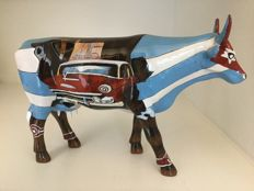 Cow parade Cow Parade - Cuban Club - Large - Resin - retired and rare!