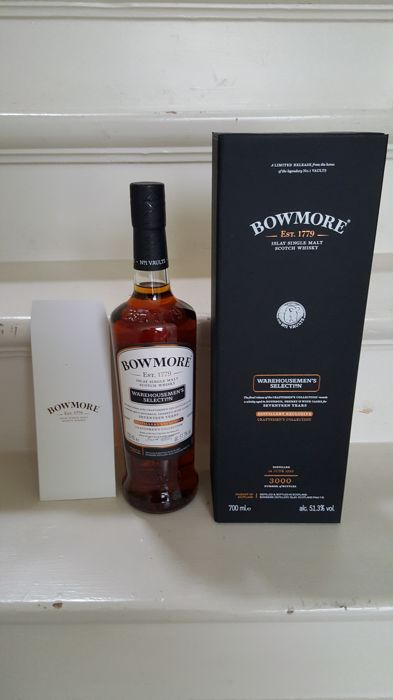 Bowmore 1999 17 years old Warehousemen's Selection - 0.7 Ltr