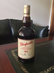 Glenfarclas 40 years old  46% - OB