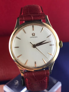 Omega – 18 kt gold – Men's watch – Year: 1960 – Serviced