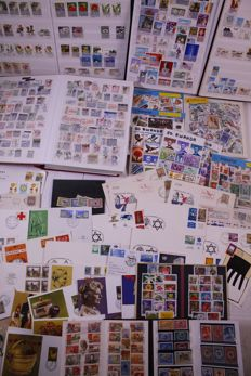 World 1870/1990 - batch of stamps, FDCs, covers, etc., in a removal box