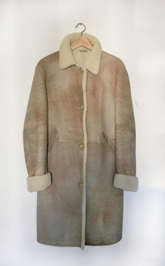 Gorgeous Shearling Jil Sander coat in excellent condition