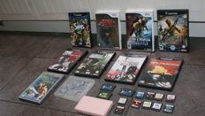 Nintendo Lot with Ds Lite and games from the Wii , gamecube , Gameboy and ds.