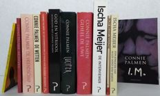 Lot with 11 books by and on Connie Palmen and Ischa Meijer - 1979 / 2007