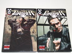Punisher MAX Volumes 1 & 2 - x2 Oversized HC With Dust Jacket - 1st Edition - (2005)