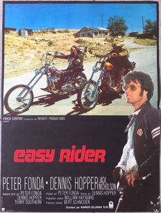 Anonymous - Easy Rider (Dennis Hopper) - circa 1970