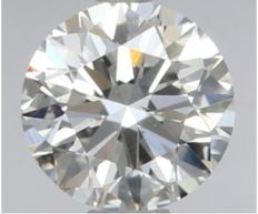 Round Brilliant   0.49ct   H SI1    GIA- original image -10x #2233