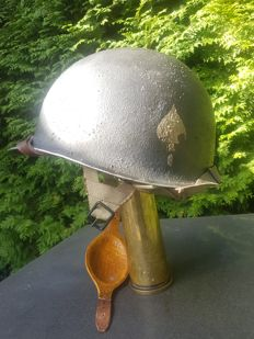 506th Parachute Infantry Regiment M1c Helmet