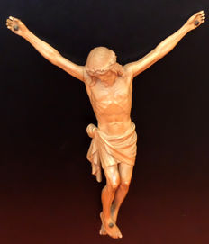 Spanish School (19th century) - Crucified Christ.