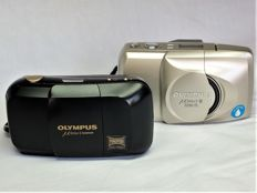 "Olympus ""Mju-1 Panorama"" and ""Mju-2 Zoom 170"""