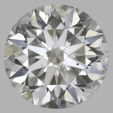 Round Brilliant   0.70ct   G SI2  GIA- original image -10x #2212