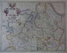 Germany, Westphalia, Bremen; G. Mercator / J. Hondius / Janssonius - 2 copper engravings - ca. 1615 / 1640